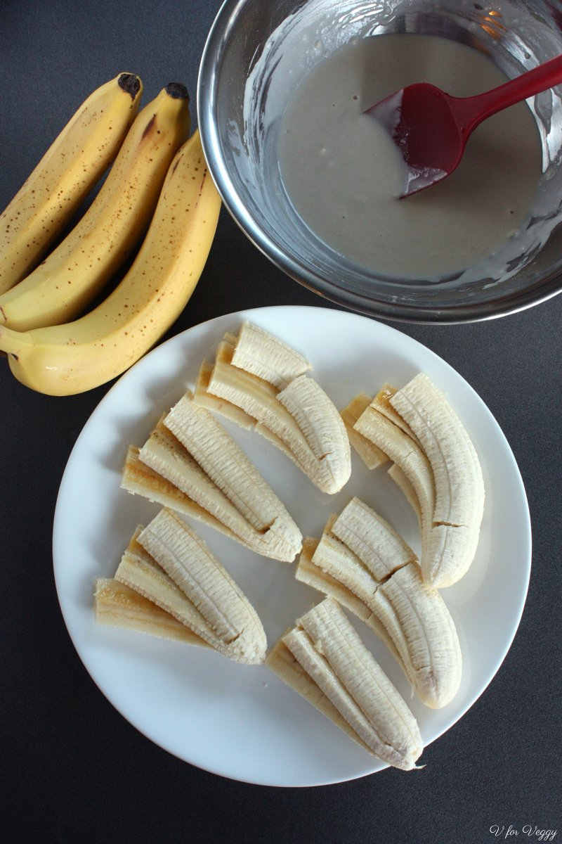 Ingredients for Fried Bananas