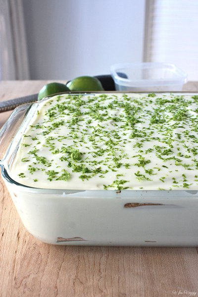 Ice Box Lime Cake