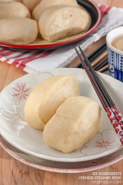 Six Ingredients Chinese Steamed Buns